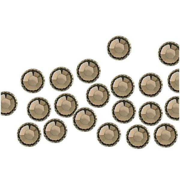 Swarovski® Hot Fix Steine black diamond 3mm 20 Stück