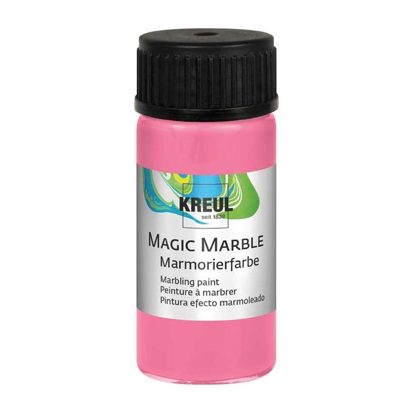 KREUL Magic Marble Marmorierfarbe rosa 20ml