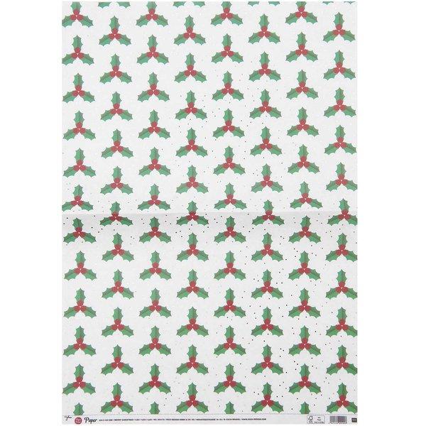 Paper Poetry Paper Patch Papier Ilex 30x42cm