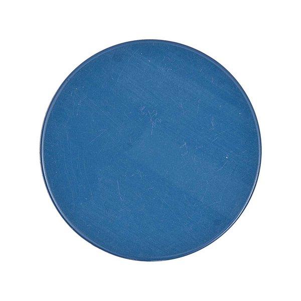 Rico Design Scheibe Kunststoff blau 30mm