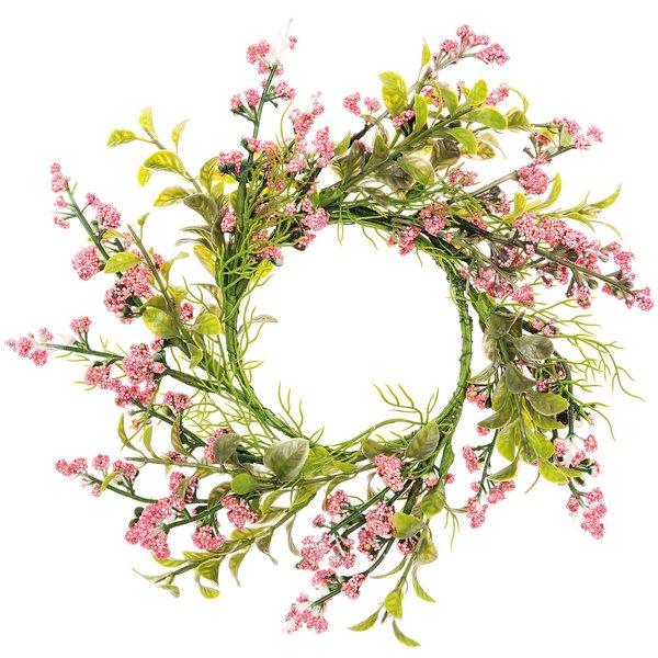Ohhh! Lovely! Kranz Mini-Beeren & Blätter rosa-grün 10cm