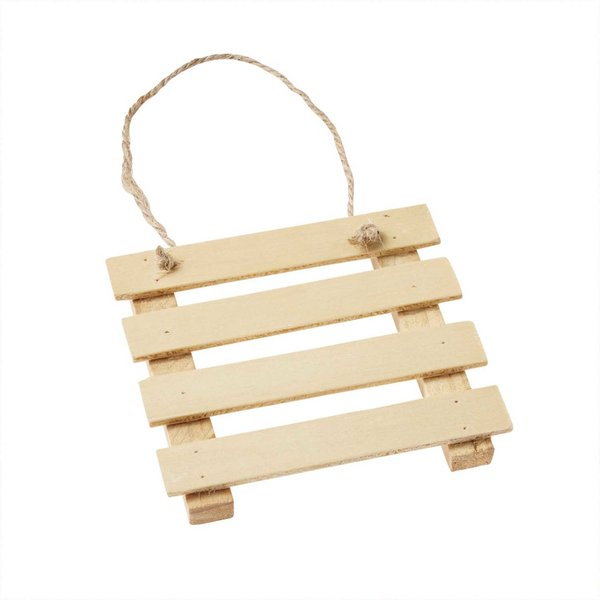 Hobby Fun Holz-Palette natur 9cm