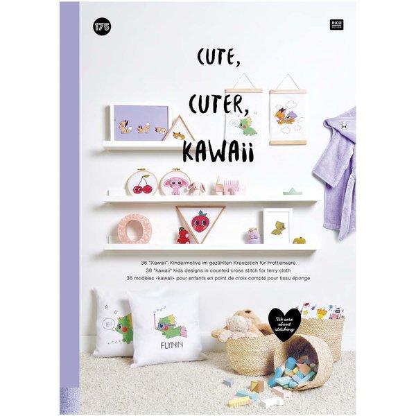 Rico Design Stickbuch Cute, Cuter, Kawaii Nr. 175
