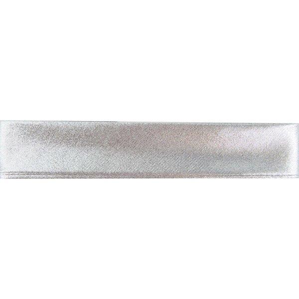 Gütermann Schrägband silber 20mm 2m