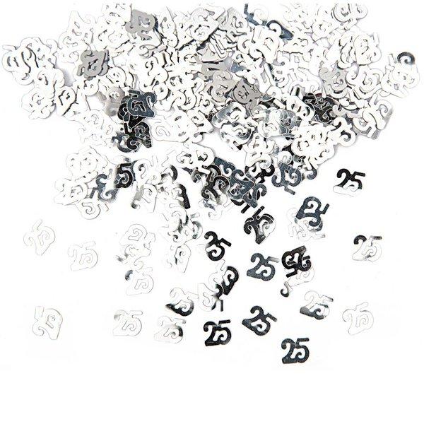 Rico Design Flitter Streu 25 silber 10g