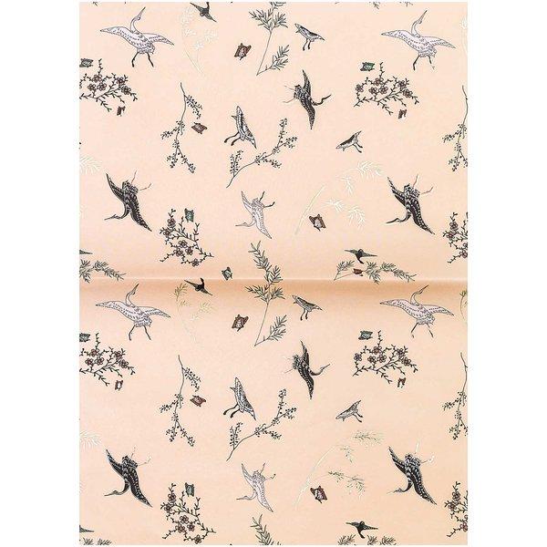 Rico Design Paper Patch Papier Jardin Japonais Kraniche 30x42cm