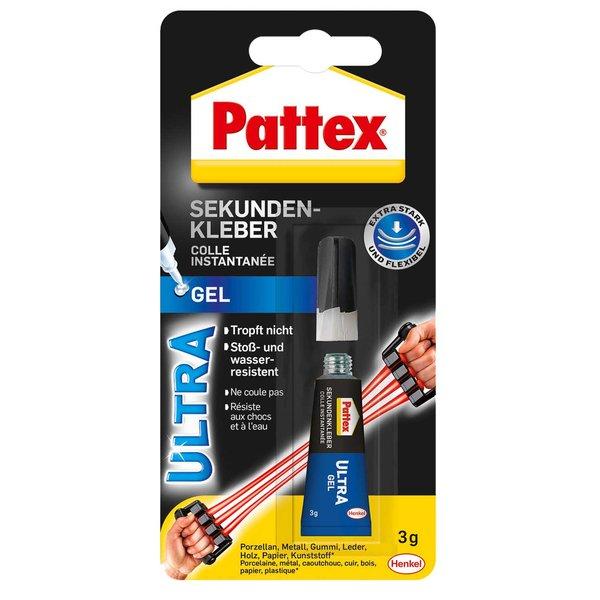 Pattex Sekunden Alleskleber Ultra Gel 3g