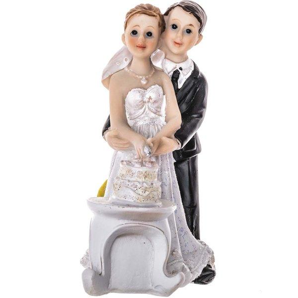 Brautpaar mit Torte 11,6cm