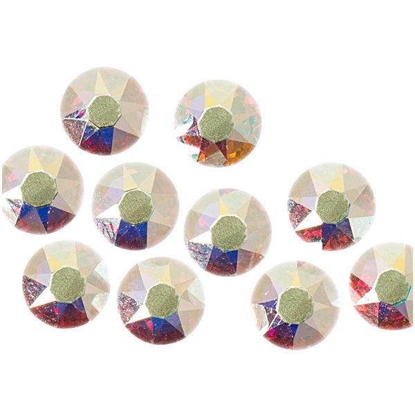 Swarovski® Hot Fix Steine crystal AB 5mm 10 Stück