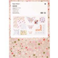 Paper Poetry Origami Faltpapier Set Bouquet Sauvage 60 Blatt