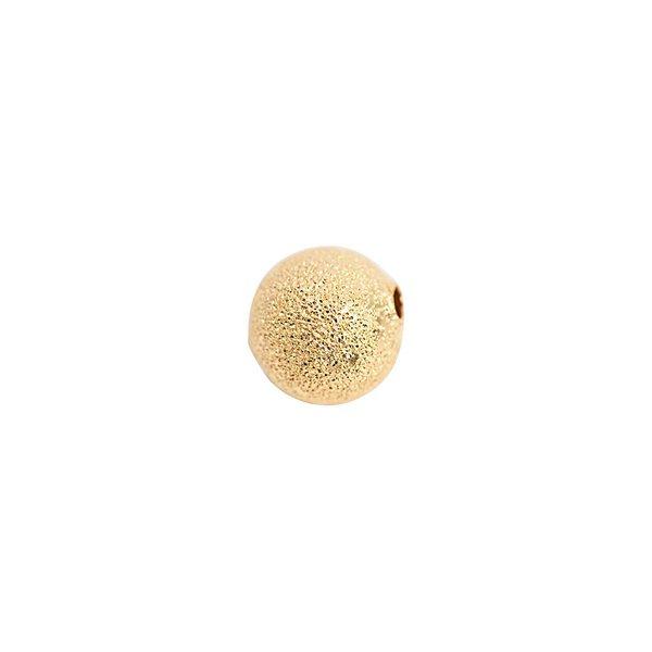 Rico Design Kugel rau gold 10mm 8 Stück