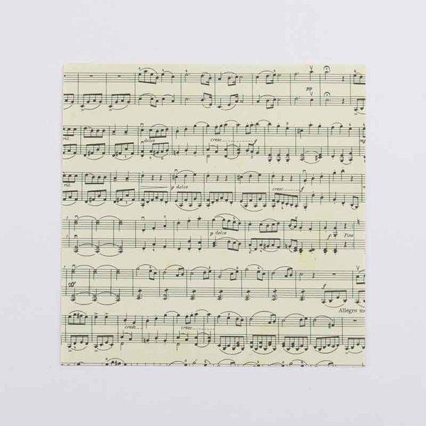 MARPA JANSEN Faltblätter Noten 15x15cm 60 Blatt
