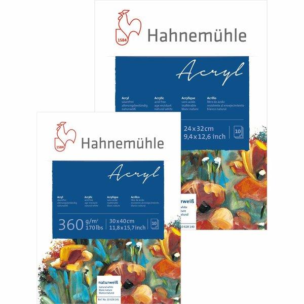 Hahnemühle Acrylmalkarton 360g/m² 10 Blatt