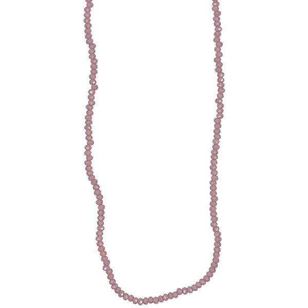 Rico Design Glasschliffkette lila 70cm