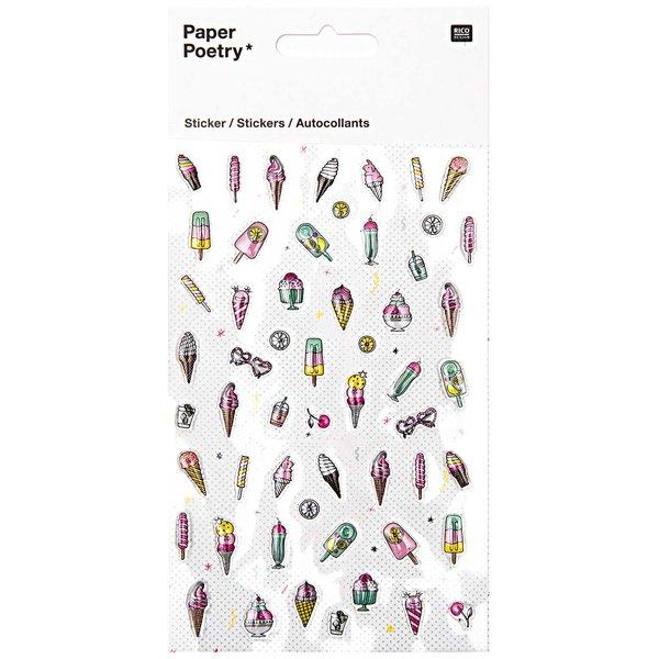 Paper Poetry Epoxy Sticker Eiscreme