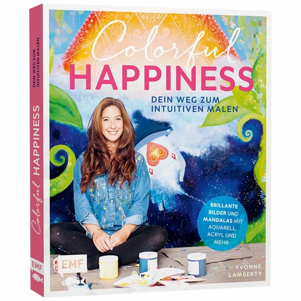 EMF Colorful Happiness - Dein Weg zum intuitiven Malen