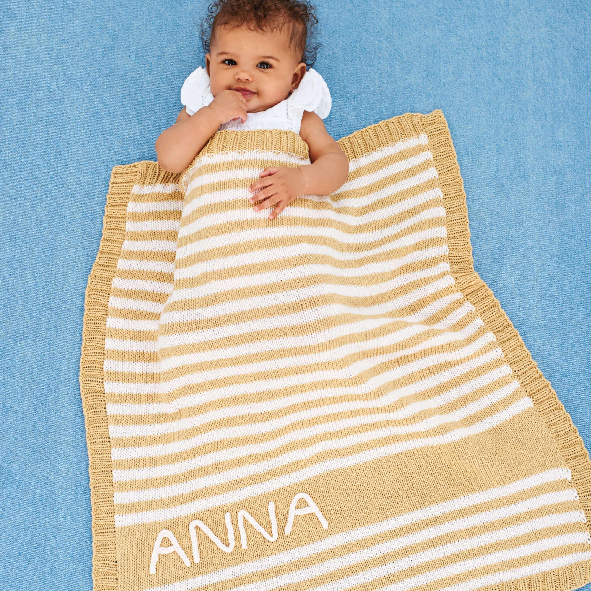 Babydecke stricken: Kostenlose Anleitung selber nutzen