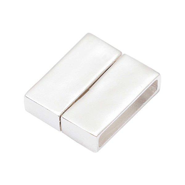 Rico Design Magnetverschluss silber 23,4x20mm