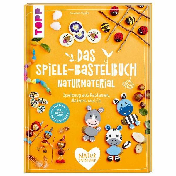 TOPP Das Spiele-Bastelbuch - Naturmaterial