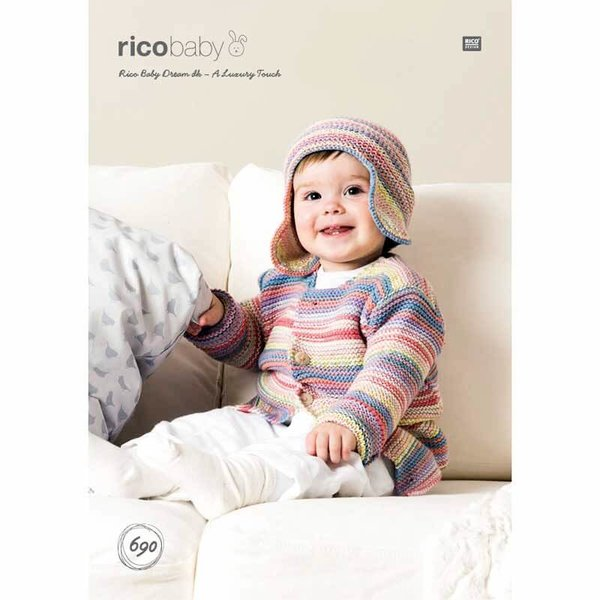 Rico Design Strickidee compact Nr.690 Baby Dream dk