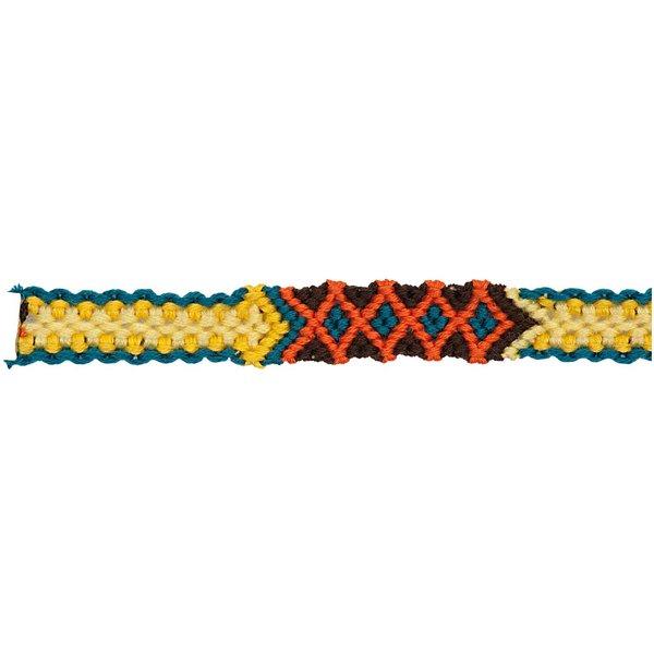Rico Design Freundschaftsband geflochten mehrfarbig XS/S 10x160mm