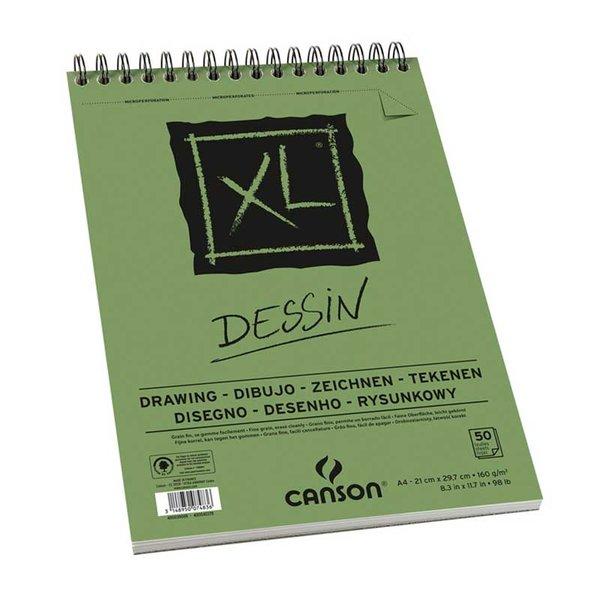 Canson XL Spiralblock Dessin A3 50 Blatt