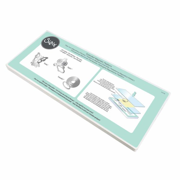 Sizzix Extended Magnetic Platform for Wafer-Thin Dies 14cm