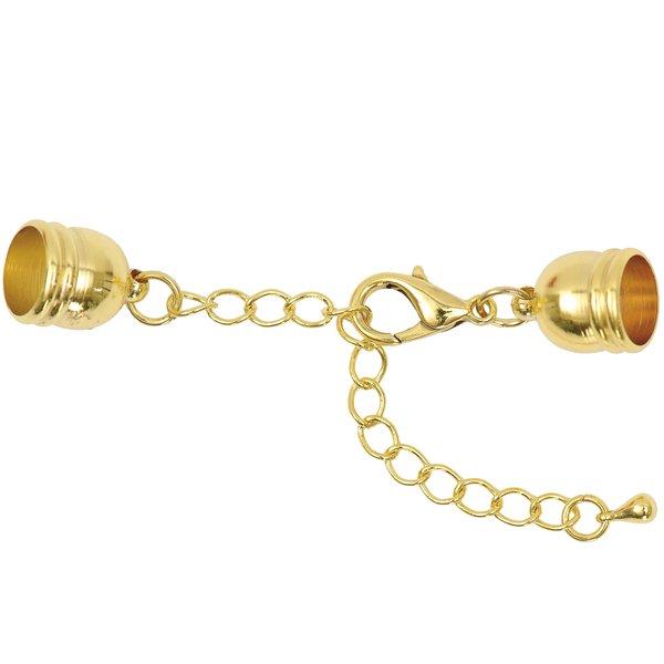 Jewellery Made by Me Endverschluss zum Kleben gold 10mm