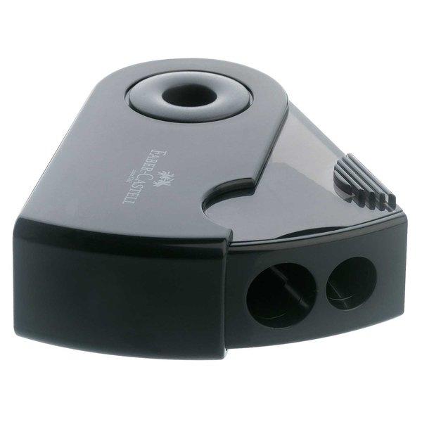 Faber Castell Anspitzer Doppeldose mit Schutzhülle