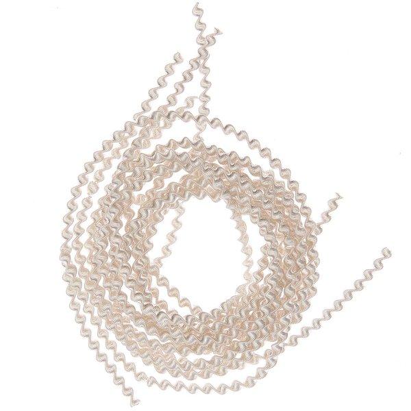 Bouillondraht grob silber 2m