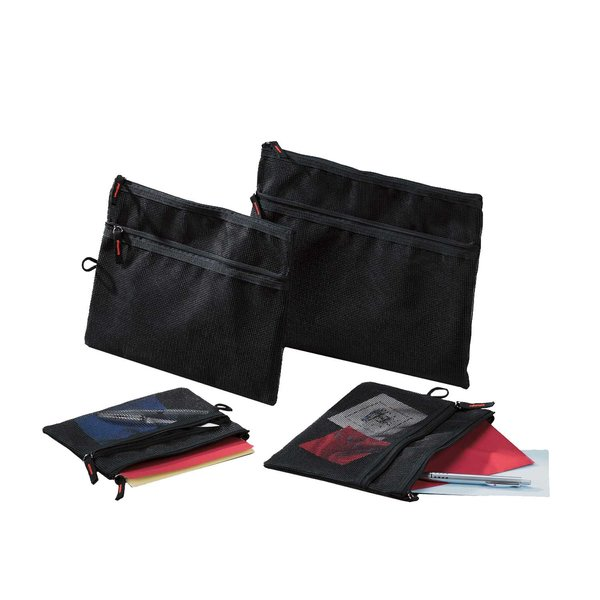 RUMOLD Mesh bag schwarz A5 245x180mm