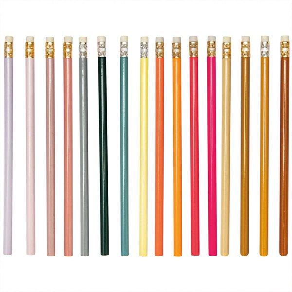 Paper Poetry Bleistifte mit Radiergummi 4 Stück