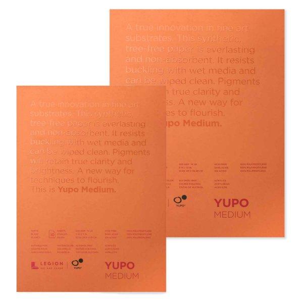 YUPO Block weiß 200g/m² 10 Blatt