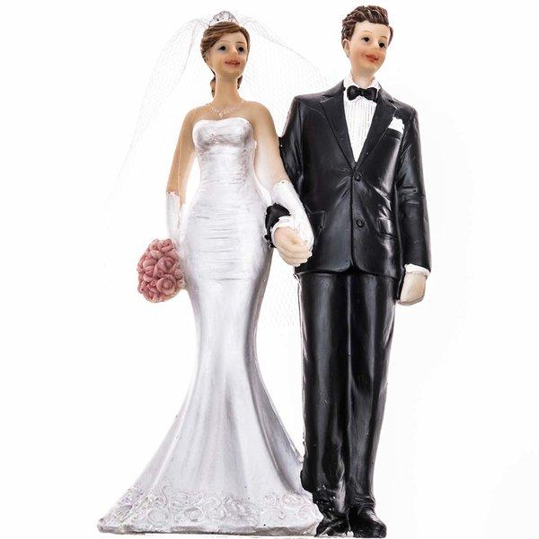Brautpaar glücklich 13,6cm