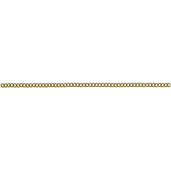 Jewellery Made by Me Gliederkette fein gold 2,3mm 1m