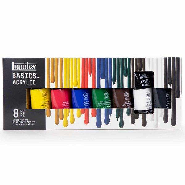 Liquitex Basics Acrylfarben Set 8x75ml