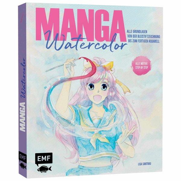 EMF Manga Watercolor - Alle Grundlagen von der Bleistiftzeichnung bis zum fertigen Aquarell