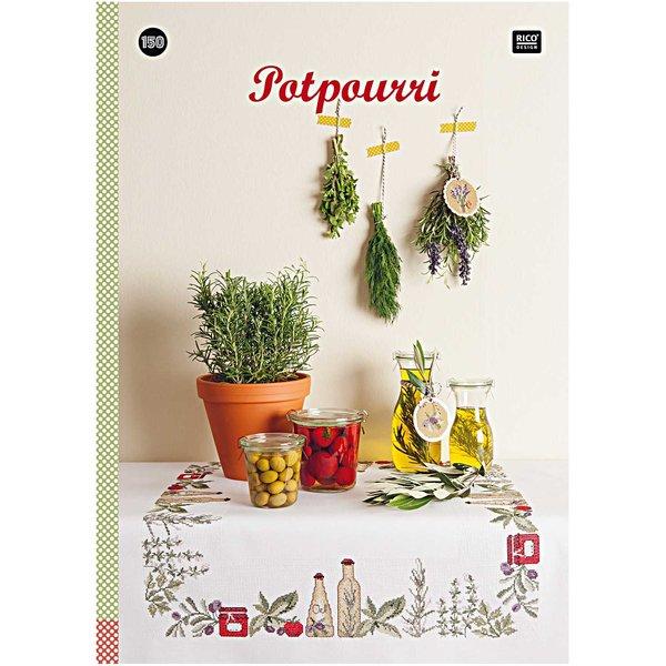 Rico Design Stickbuch Potpourri Nr.150