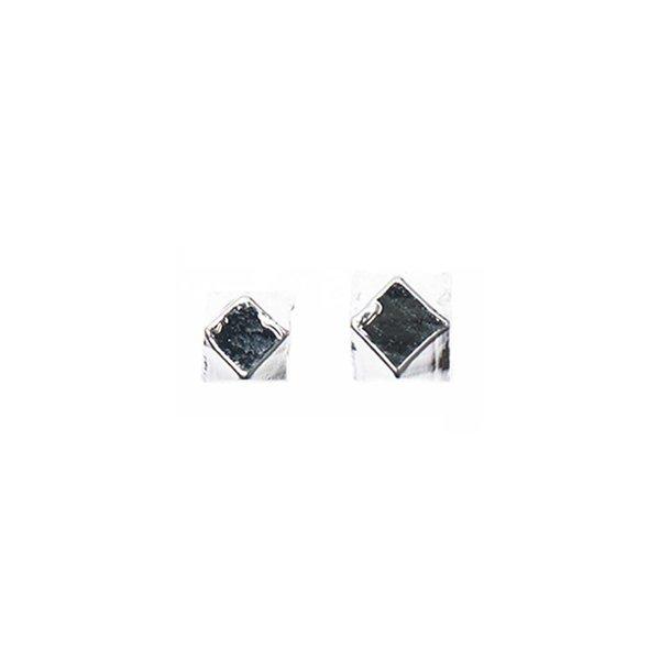 Rico Design Facettenkugel silber 6 Stück