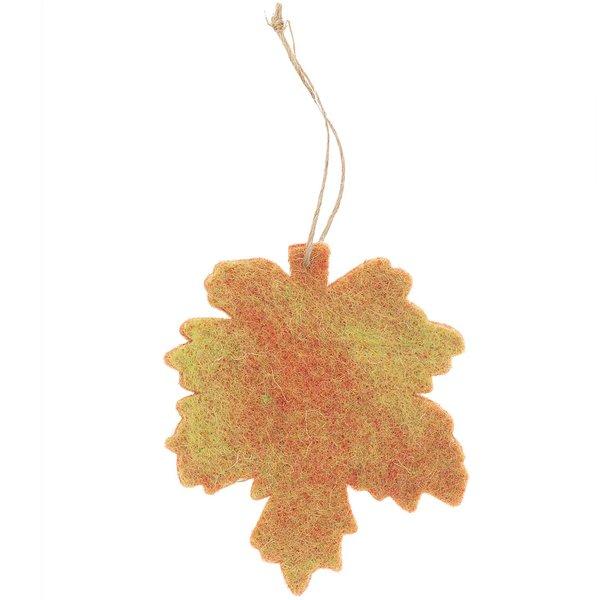 Ohhh! Lovely! Filzhänger Herbstblatt 9x10cm