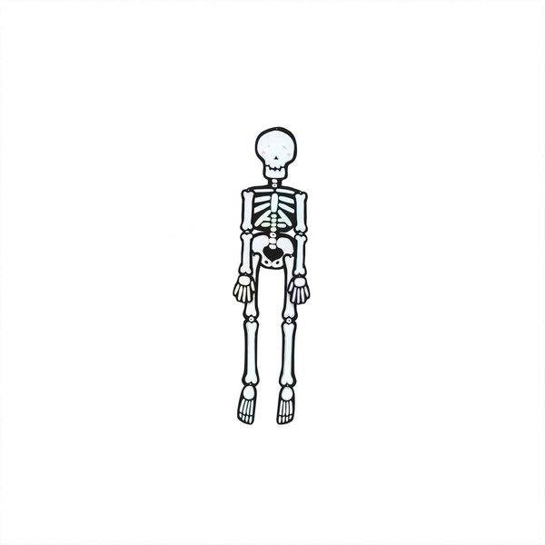 Paper Poetry Hänge-Skelett klein 15x50cm