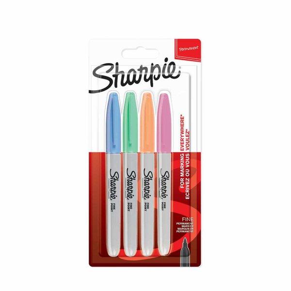Sharpie Permanentmarker fein Pastellfarben 4 Stück
