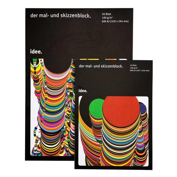 Skizzenblock 190g/m² 50 Blatt