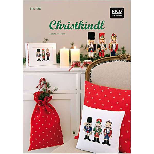 Rico Design Stickbuch Christkindl Nr.136