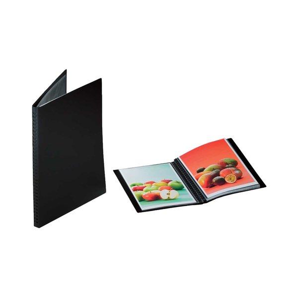 RUMOLD Präsentationsbuch schwarz A3 20 Seiten
