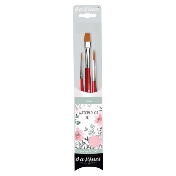 da Vinci May & Berry Pinsel-Set Watercolor