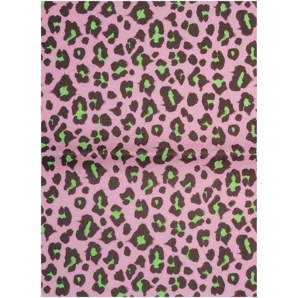 Paper Poetry Paper Patch Papier Acid Leo rosa-grün 30x42cm
