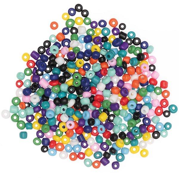 Jewellery Made by Me Keramikperlen natur multicolor 3mm 30g