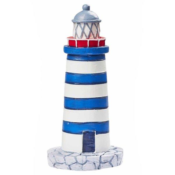 HobbyFun Leuchtturm blau-weiß