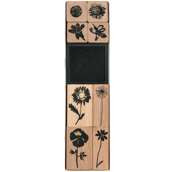 Paper Poetry Stempelset Wildblumen 8 Stempel